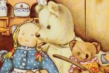 """Elizabeth Orton Jones / Elizabeth Orton Jones (June 25, 1910 – May 10, 2005) was an American illustrator and writer of children's books. One of her illustrated books, Small Rain: Verses from the Bible, was named a Caldecott Honor Book in 1944 and another, Prayer for a Child (story by Rachel Field), won the Caldecott Medal in 1945, recognizing the year's """"most distinguished picture book for children"""" published in the United States."""