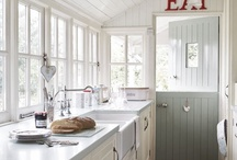 Shaker/Painted Kitchens / This kitchen style is perfect for a period home. Painted kitchens are worth the investment. Get bored of the scheme and a change of colour creates a whole new look.