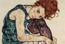 Egon Schiele / by Donna Benoit Nettis