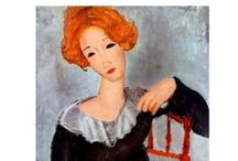 Modigliani / by Donna Benoit Nettis