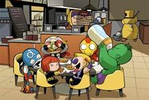 Avengers and Other Superhero Awesomesauceness / Marvel superheroes, mostly Avengers. Have included characters from the DC universe as well, because they're awesome too. Enjoy!!! XD / by Josephine Mary Fanton