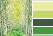 Color Palette for fiber art / colors that work together / by Nancy Sallee