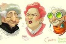 Character Design / by Donna Benoit Nettis