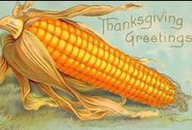 Greeting cards-Thanksgiving / vintage greeting cards for thanksgiving