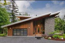 Moderná architektúra / Moderné rodinné domy.