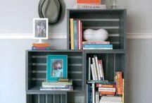 Palety a ich využitie na iné účely - nábytok / Drevené palety  ako nábytok, rôzne pomocné kusy pre bývanie