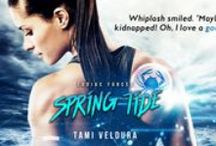 Bookshelf: Spring Tide - A Zodiac Forces Short Story / Cancer is the watercraft-branch of the privatized Zodiac Forces. Whiplash and Cardinal are off the coast of Italy, tracking ivory.  Instead they find a message in a bottle calling for help. Whiplash knows a proper adventure when she sees one but the trail leads back to the very smugglers they were tracking.  Separated from her partner and supplies, it's up to Cards to get herself free. If it means pretending to fall in love, Cardinal won't pull any punches.  Coming May 27th