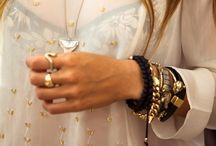 Jewelry//Scarves//Bags! The good stuff! / by Elana Arsondi