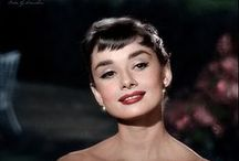 {faces} / slightly obsessed with Audrey Hepburn as well as all of these celebrities  / by Kate Newton