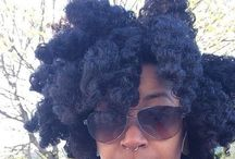 Natural + Hair / Styles for natural-haired divas