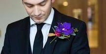 {Floral Design} Buttonholes & Corsages / wedding floral inspiration