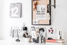 Gorgeous Workspaces / Stylish work from home office spaces