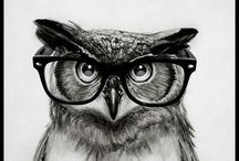 Everything Owls / This is the place my owl obsession can fly free, without taking over my actual life.   / by Aubrey Miller