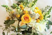 {Bouquets} Yellow & Lemon / floral wedding inspiration