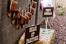 Cowgirl birthday party  / by Jessica Meade