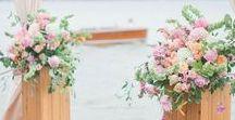 {Floral Design} Pedestals