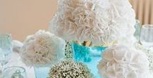 {Centrepieces} White / floral wedding inspiration