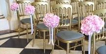 {Floral Design} Pews & Chairs