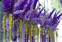 {Centrepieces} Purple & Lilac