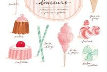 REFERENCE. drawing food / by Mekel Fashion Illustration