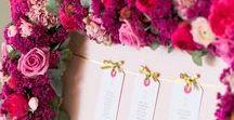 {Floral Design} Seating Plan & Escort Cards