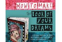 Make The Book of Your Dreams / Journal pages made by Asphyxia and students of her online art journal course: Make The Book Of Your Dreams.