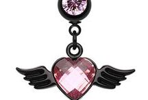 Angel Belly Rings / Wicked Angels and Angel Wings