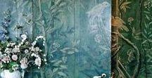 Home P2 / Interior Chinoiserie, Trompe L'oeil, Scenic Mural +