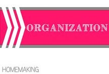 Organization / by Allyson @ All Our Days
