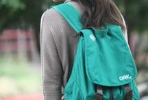 Green Leaf Backpack / by OAK Lifestyle