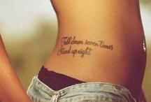 Tattoos / by Nicole Calamia
