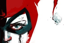 Graphic Novels, art and illustrations / Fancy word for comic books...