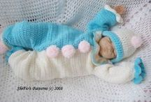 CROCHET BABY & TODDLER CLOTHES / by Mary-Elaine Harris
