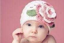 CROCHET BABY HATS / by Mary-Elaine Harris