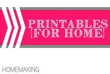 Printables for the Home / by Allyson @ All Our Days
