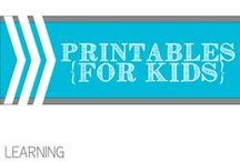 Printables for Kids / by Allyson @ All Our Days