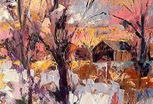Paintings- Cynthia Rosen- Fine Art / Cynthia Rosen-oil paintings / by Linda Spang