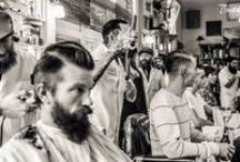 Barbershop / I have a thing for old school barbershops, tattoos, beards, and straight razors.  / by Chloe' Bonar