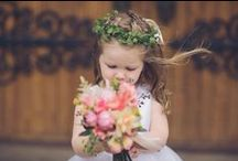 Flower Girls! / Some inspiration for the little ones in your wedding!