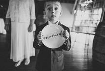 Ring Bearers! / Some inspiration for the little ones in your wedding!