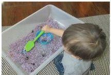 Sensory Activities / sensory activities, sensory bins, invitation to play