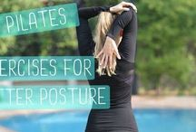 Workouts / Fitness videos and Pilates inspired workouts to inspire your exercise routines!