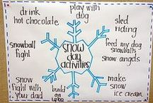 Let It Snow. / Winter activities, ideas, and resources. / by First Grade Schoolhouse