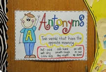 Anchors Away {Charts}. / Anchor charts. / by First Grade Schoolhouse