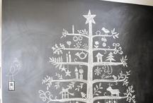 Chalkboard wall ideas / by Erica Gwaltney