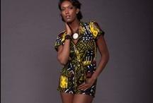 Afrique Du Sud. / Modern African attire.