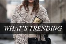 What's Trending | Fall 2013 / From classic pieces to varsity wear to rocker chic, we bring you the hottest trends of the season. See our Fall 2013 trend guide here » http://www.thebay.com/webapp/wcs/stores/servlet/en/thebay/search/womens-apparel/womens-fall-fashion-office / by Hudson's Bay