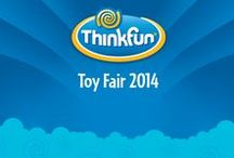 Toy Fair 2014 / ThinkFun had some adventures at Toy Fair 2014
