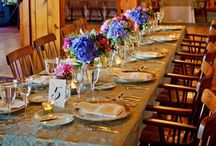Our Tables / Flowers, candles, and details oh my!