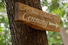 Our Ceremonies / Lush or simple, but always romantic